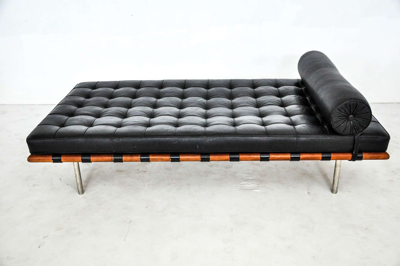 Ludwig Mies Van Der Rohe Barcelona Daybed Circa 1970s Pinterest