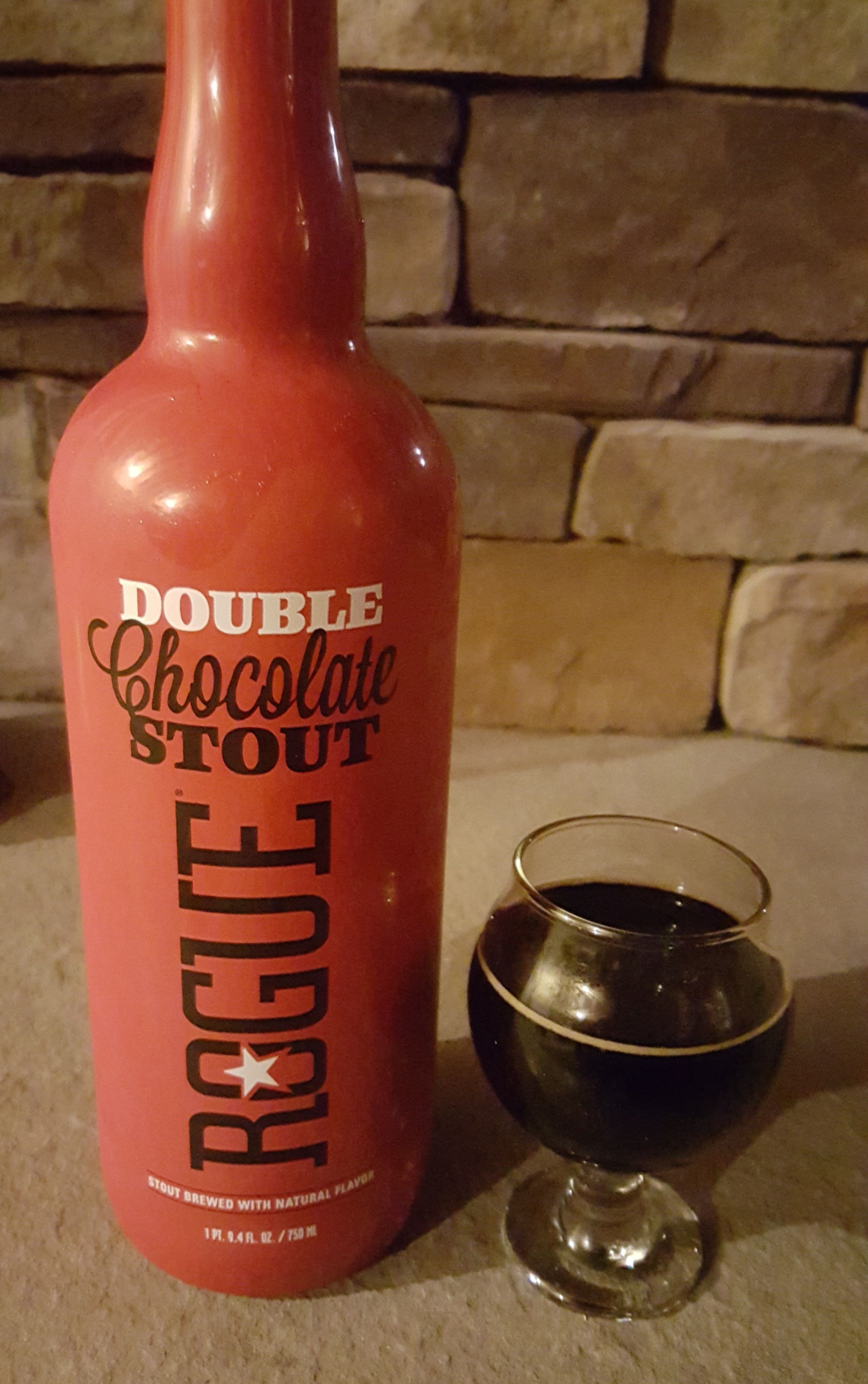 Rouge Double Chocolate ADI Stout Is 9 ABV And 50 IBU Appearance