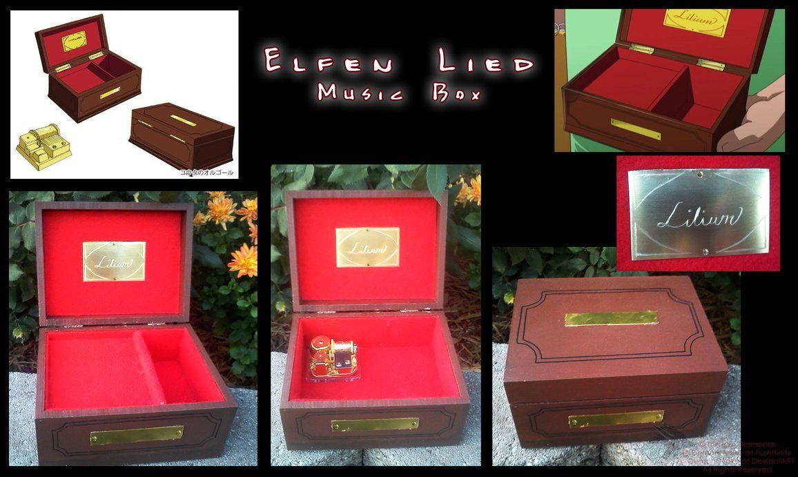 lilium elfen lied music box