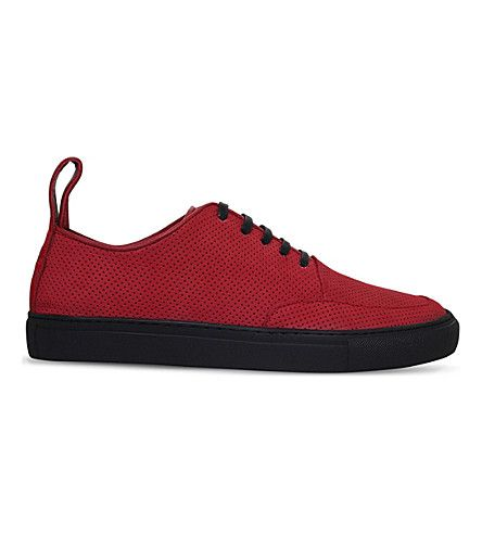 BLOOD BROTHER Asura Suede Sneakers. #bloodbrother #shoes #sneakers