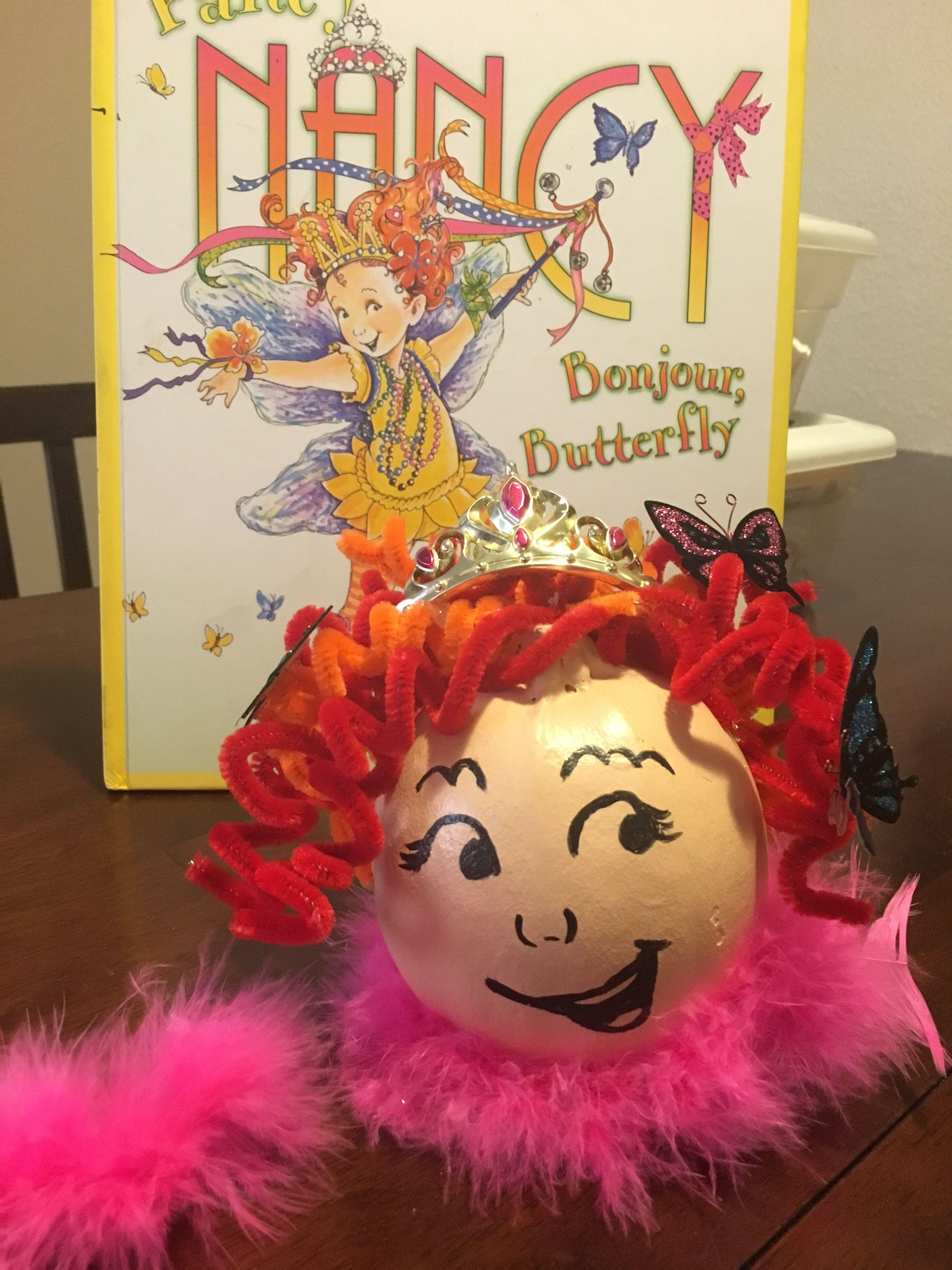 Fancy Nancy Pumpkin Book Report