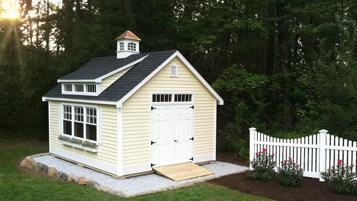 Reeds Ferry Shed Photos Shed Traditional Sheds Shed Dormer