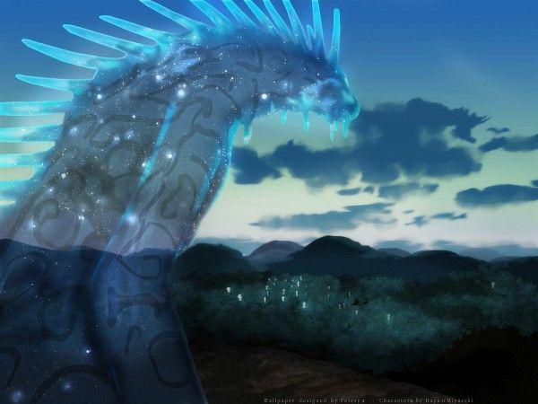 Anime Wallpaper Mononoke Hime Studio Ghibli Forest Spirit