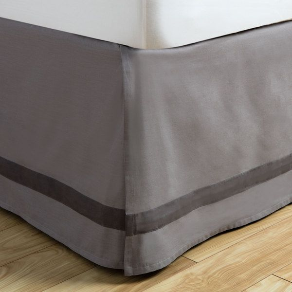 Liven up your bedding decor with this cotton bedskirt . The Atlas Collection…