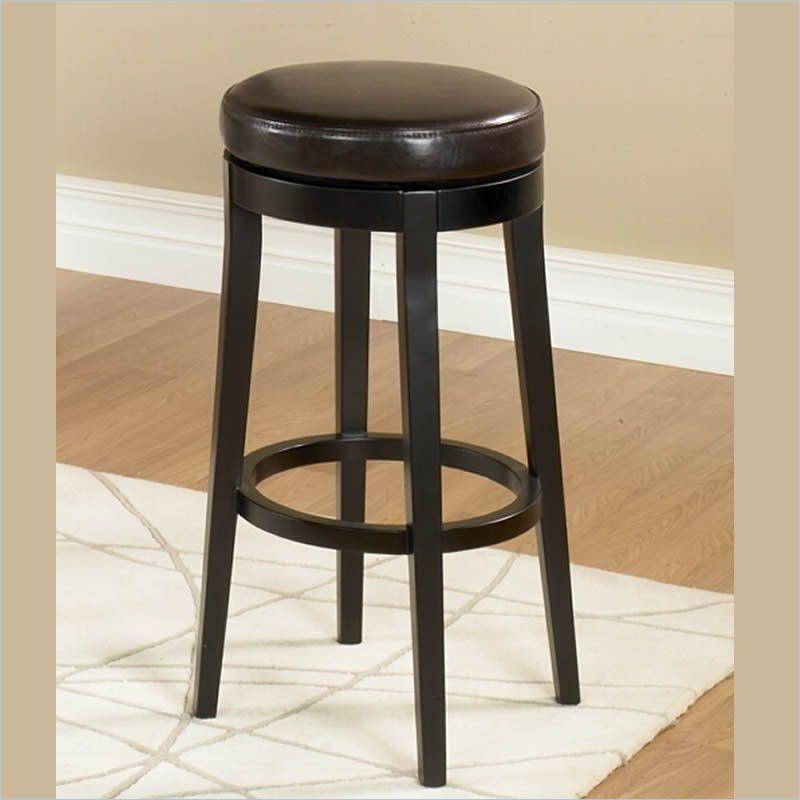Pleasant Armen Living 26 Backless Swivel Counter Stool In Dark Beatyapartments Chair Design Images Beatyapartmentscom