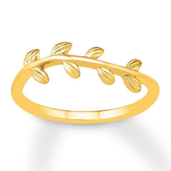 Branch Ring 10K Yellow GoldKay in 2020 Branch ring