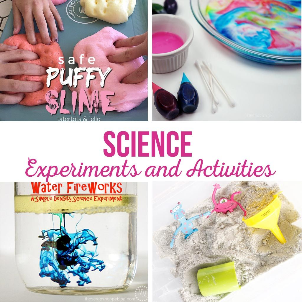 Science Experiments And Activities