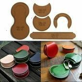 TEMPLATE PATTERN TOOLS Horseshoe Coin Purse Bag Kraft Paper Leather Craft DIY  1079  PicClick  TEMPLATETEMPLATE PATTERN TOOLS Horseshoe Coin Purse Bag Kraft Paper Leather...