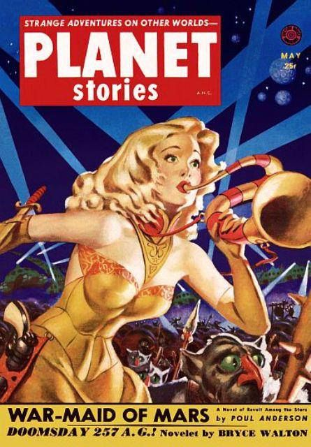 Planet Stories May 1952 In 2020 Pulp Fiction Book Pulp