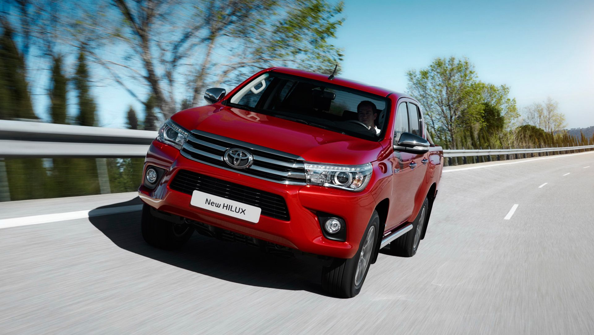 Toyota has released information and a massive photo gallery with its all new hilux pickup
