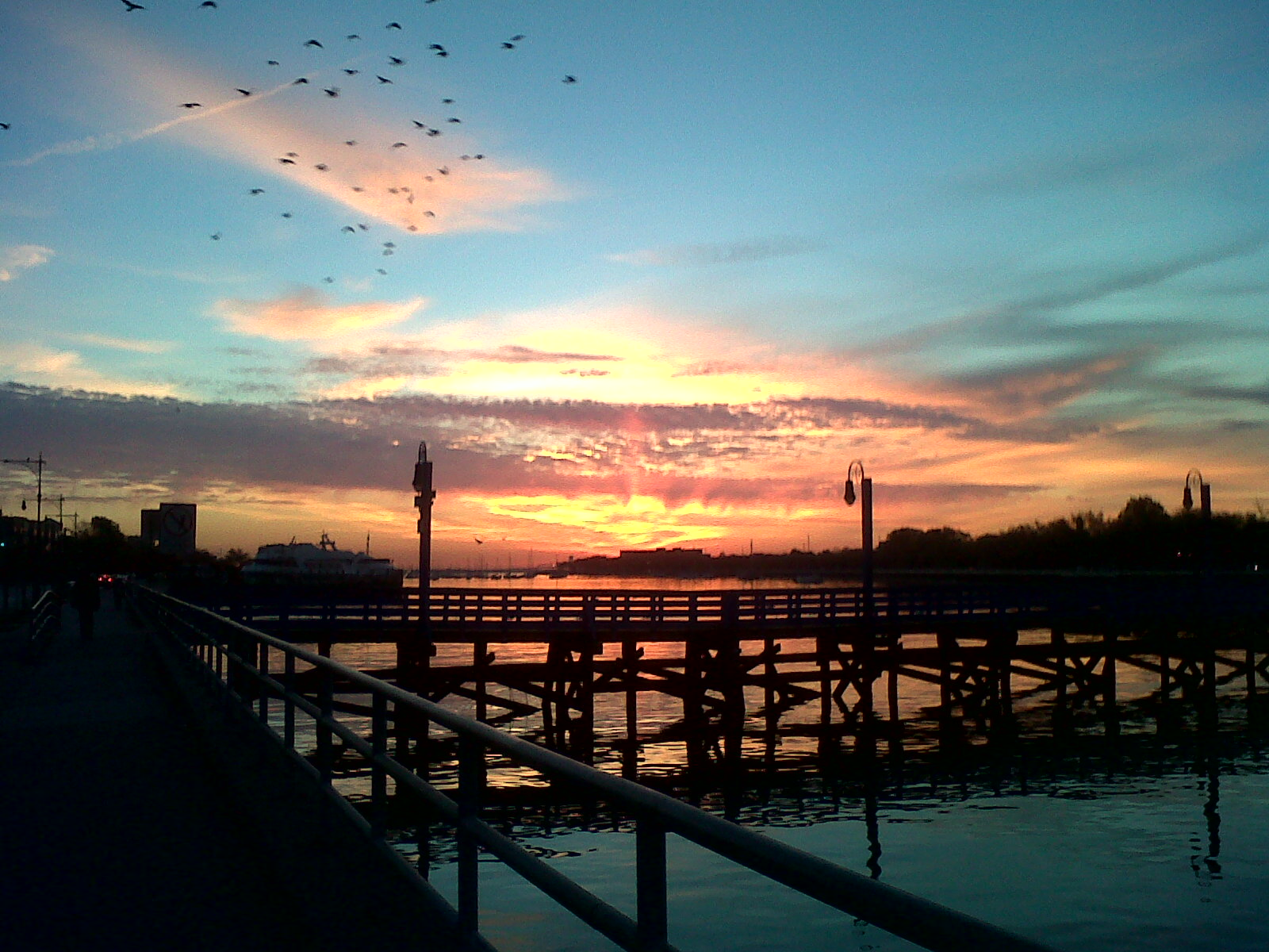 Sunrise over Sheepshead Bay Brooklyn, NY. Find out more