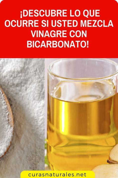 que ocurre cuando se mezcla bicarbonato de sodio con vinagre