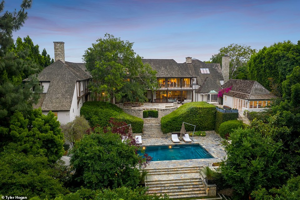 Brad & Jen's Romantic Newlywed Mansion For Sale at $44.5 million