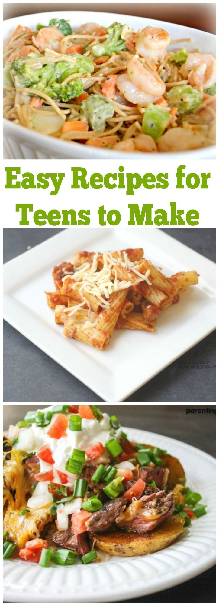 Easy Recipes For Teens To Cook At Home Easy Meals Healthy Lunch