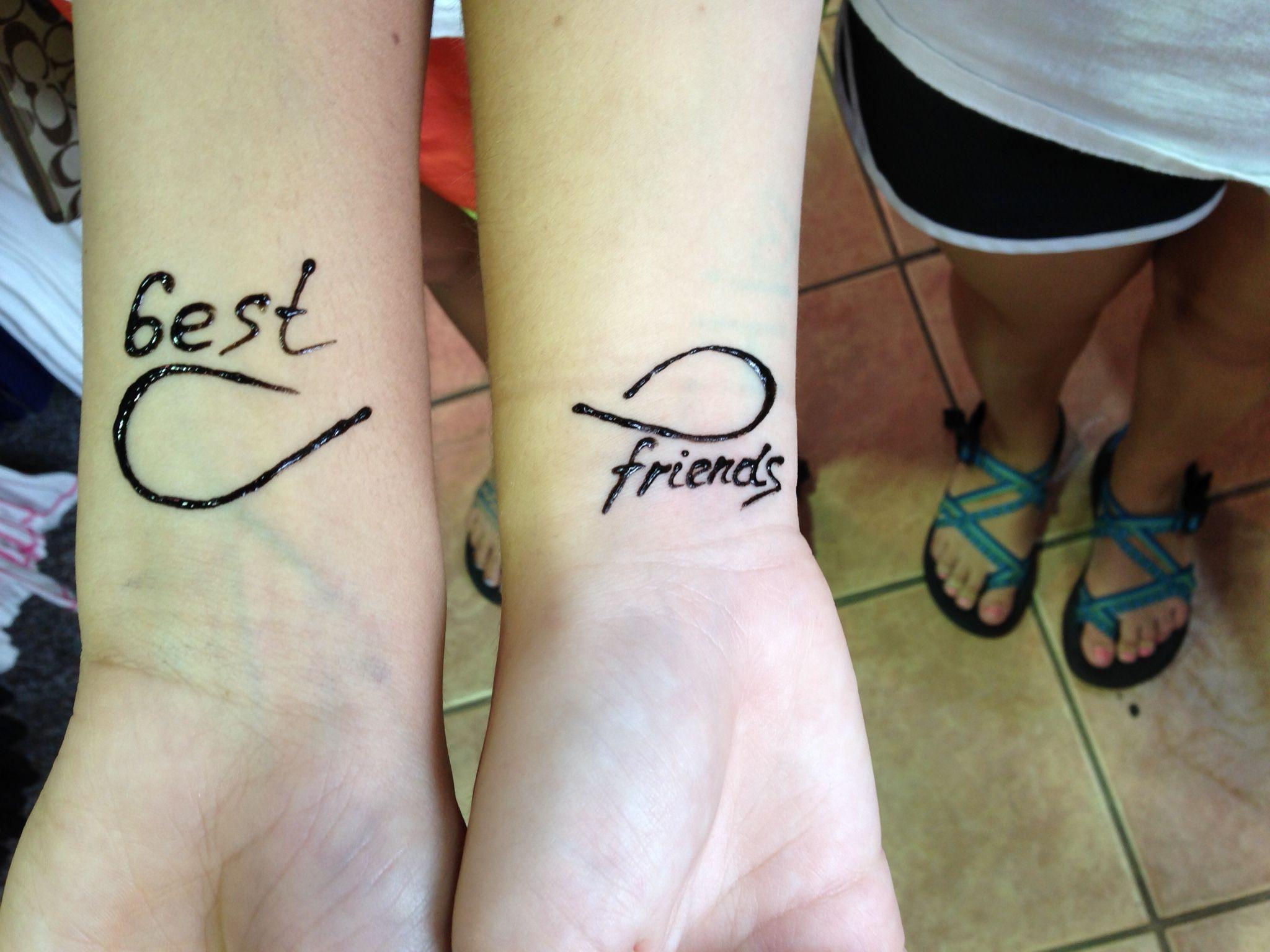 Best Henna Tattoo: Henna Tattoos With Your Best Friend