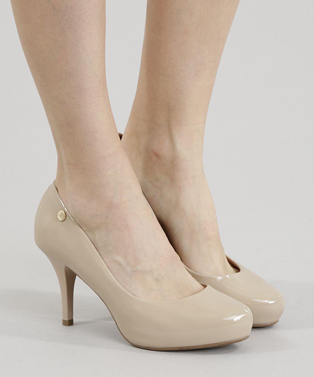 4ae08fb3f Scarpin-Vizzano-Nude-8346770-Nude_2 | looks | Sapatos, Scarpin ...