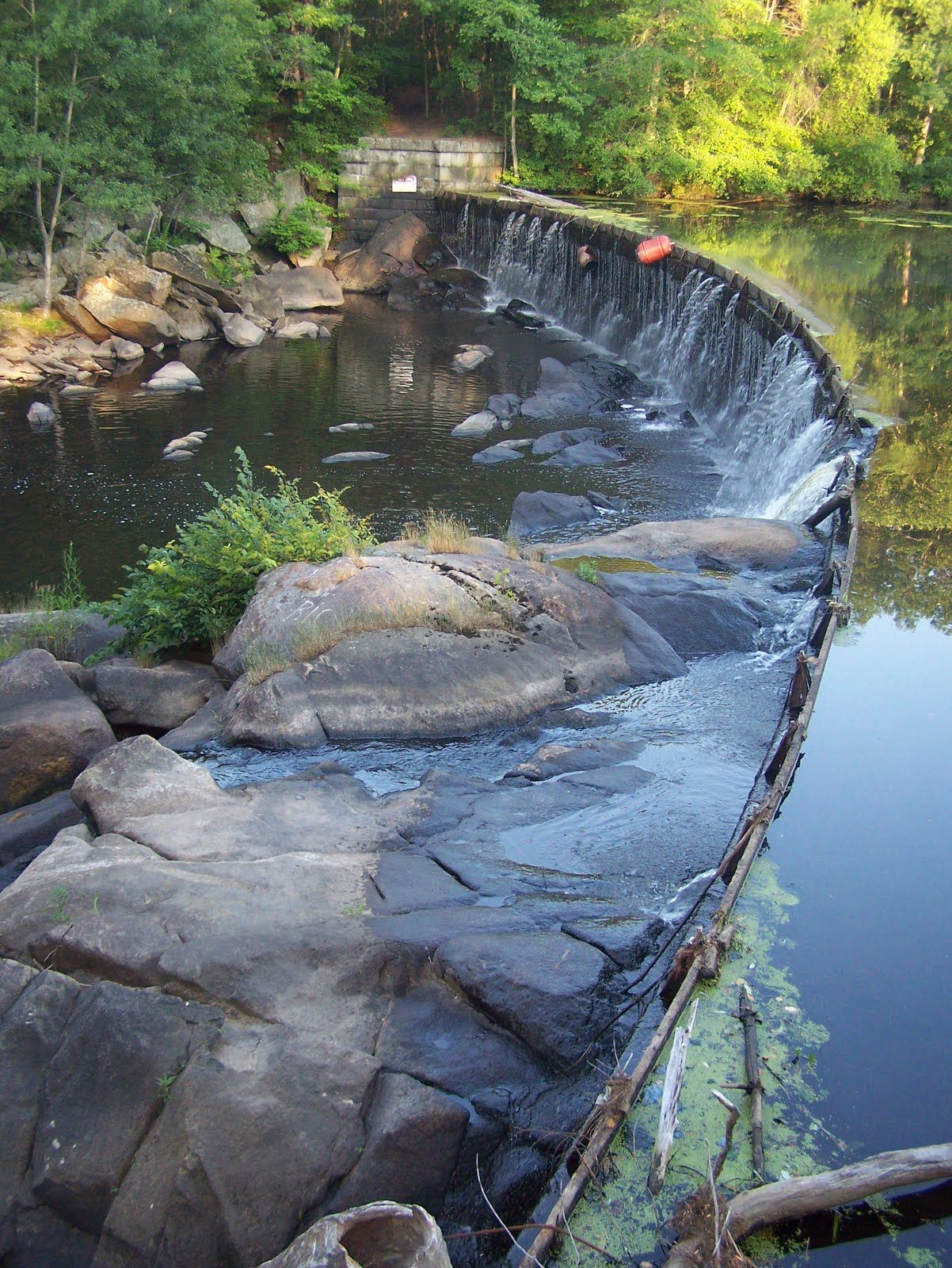 Roaring Dam At Blackstone Gorge Built By Daniel Simmons For The