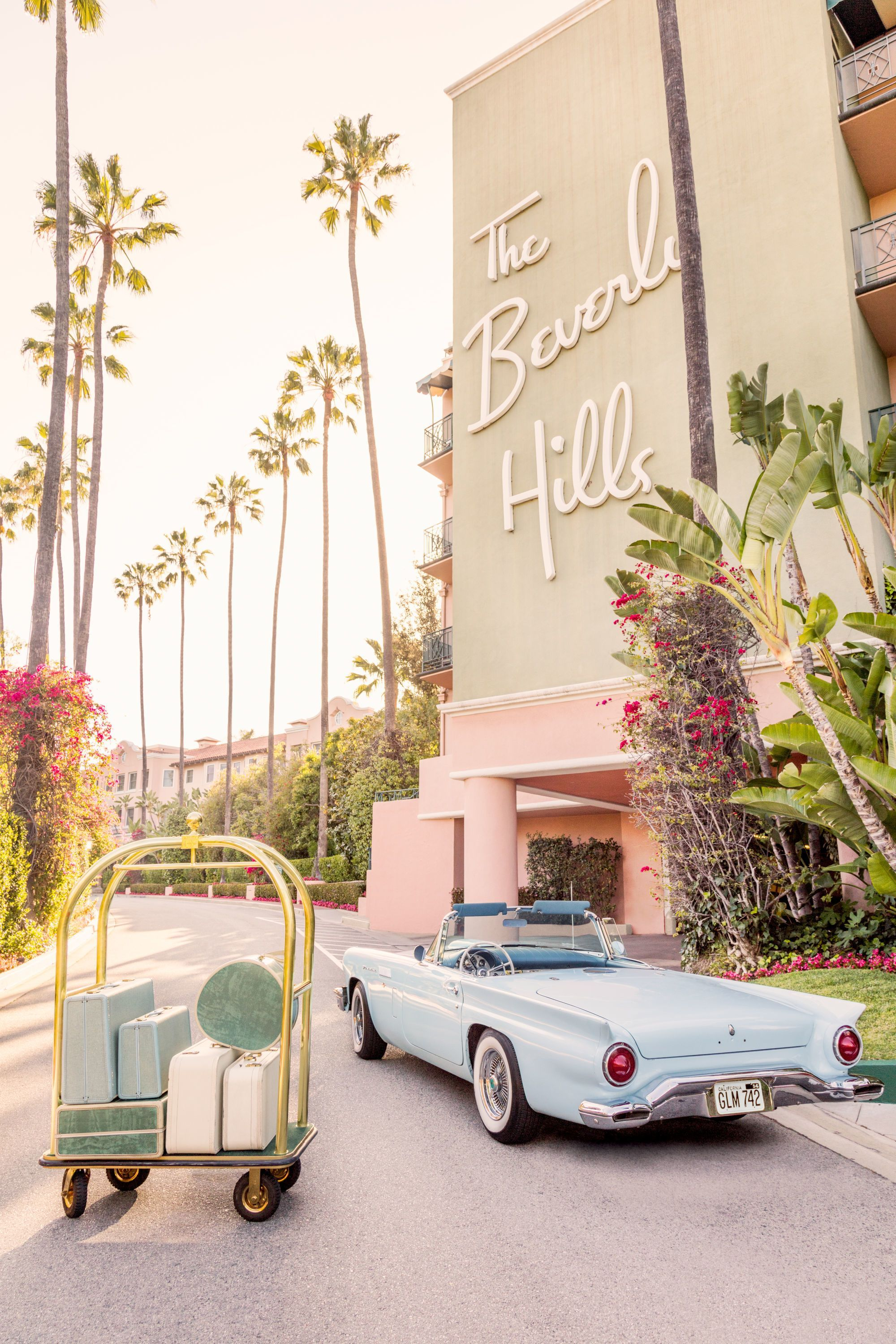 Brand New Gray Malin at The Beverly Hills Hotel in 2020