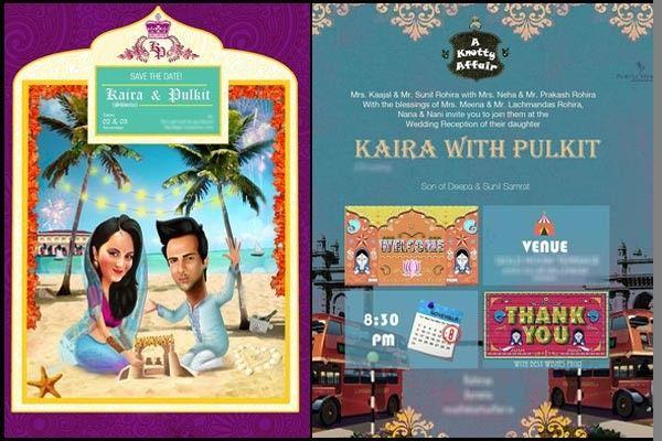 N kai ra wedding invitations