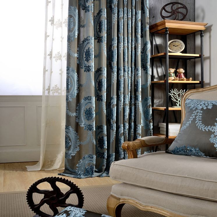 flora l burnout velvet curtains108 blend in pretty floral and burnout
