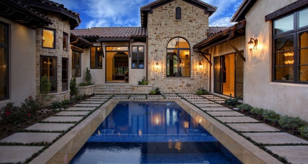 outstanding mediterranean pool home design ideas 4 in on extraordinary mediterranean architecture style inspiration id=76779
