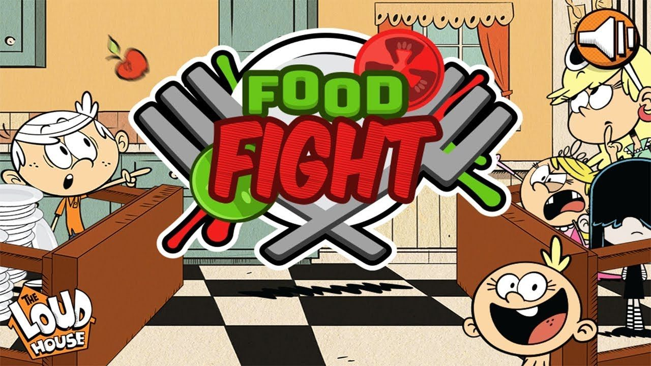 The Loud House Food Fight Nickelodeon Games