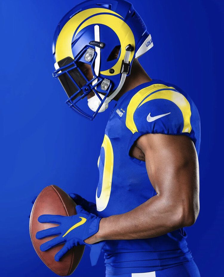 Los Angeles Rams New Uniforms Uniswag In 2020 Rams New Uniforms Nfl Outfits Los Angeles Rams Uniforms