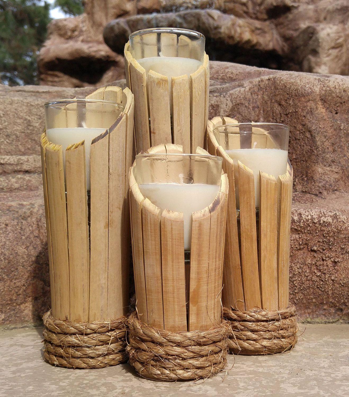 Diy Bamboo Design Ideas Bamboo Bamboo Candle Bamboo Candle