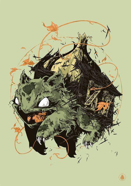 'Pocket Monsters: Bulbasaur' by Ivan Belikov