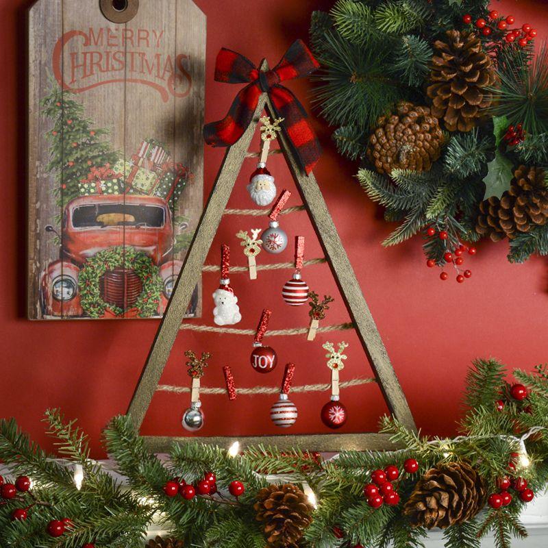 Diy Greeting Card Holder Tree Clip Tree Christmas Cards Organization Ideas Christmas Diy Xmas Decorations Christmas Diy Christmas Crafts