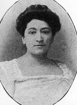 Marquise de Villeneuve-Esclapon, nee Jeanne Bonaparte (1861-1910), daughter of Pierre Bonaparte and his wife Éléonore-Justine Ruffin; she herself was a respected painter and sculpturer.