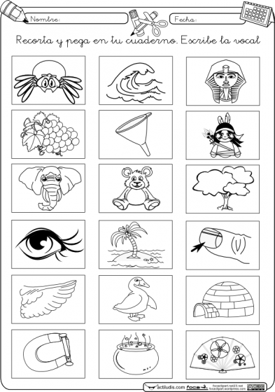 Inicio Lectoescritura Fichas Para Trabajar Las Vocales Actividades Vocales Lectura Y Escritura Lectoescritura