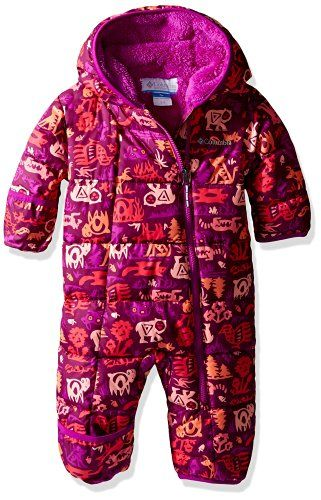 e2c4e84aafa2 Amazon.com  Columbia Baby Girls  Frosty Freeze Bunting  Clothing ...