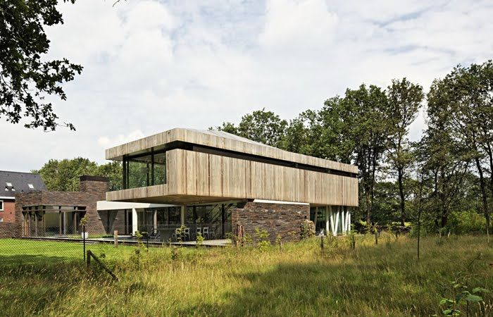 Resultado de imagen para casas minimalistas en el bosque for Casa minimalista bosque