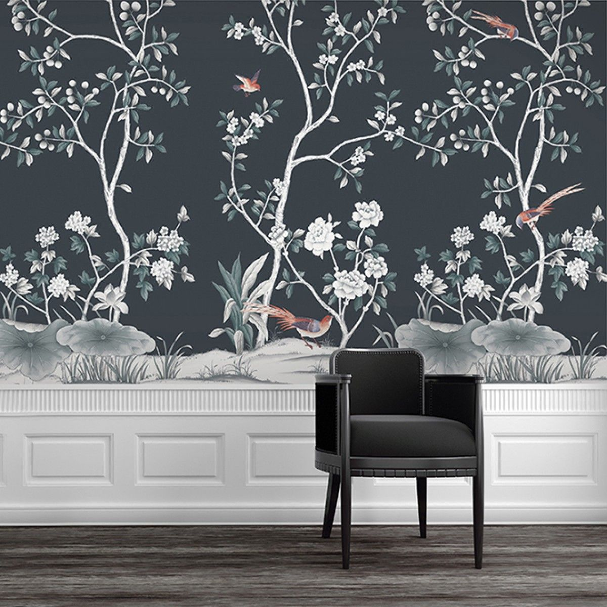 LILLY CHINOISERIE SHOP Tempaper Designs