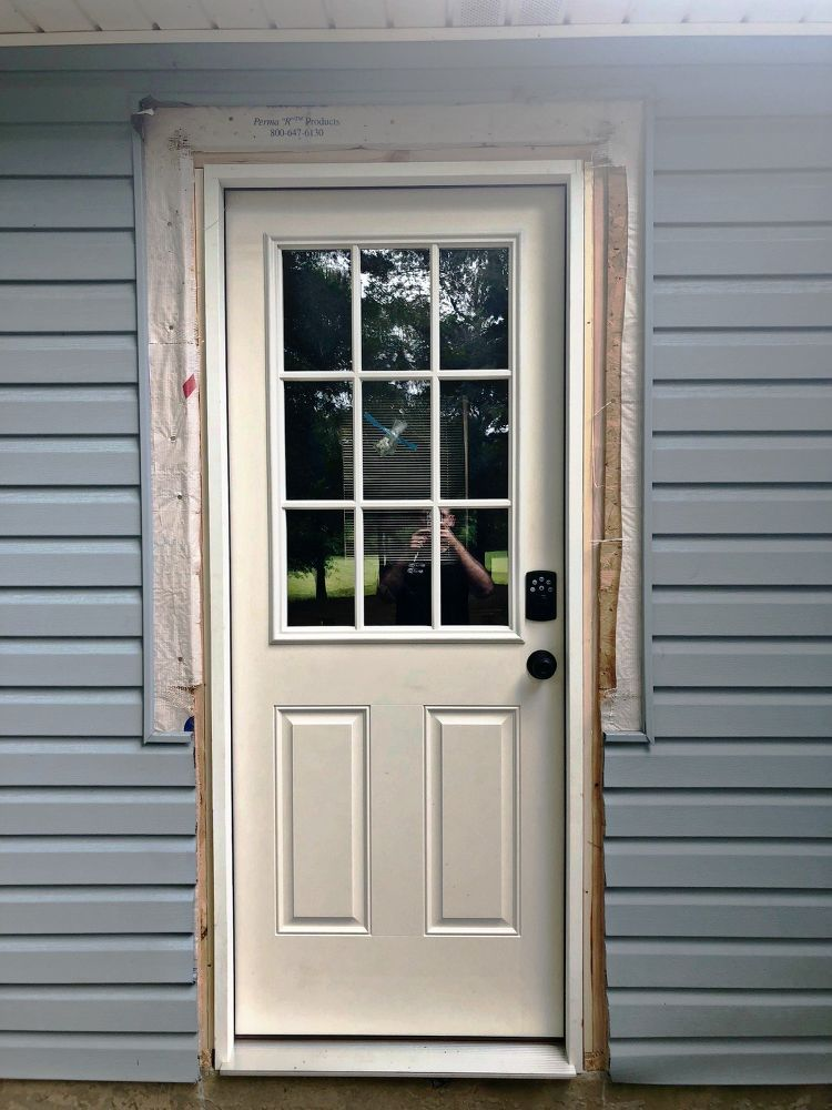How To Convert A Window Into A Door Windows Doors Exterior Doors