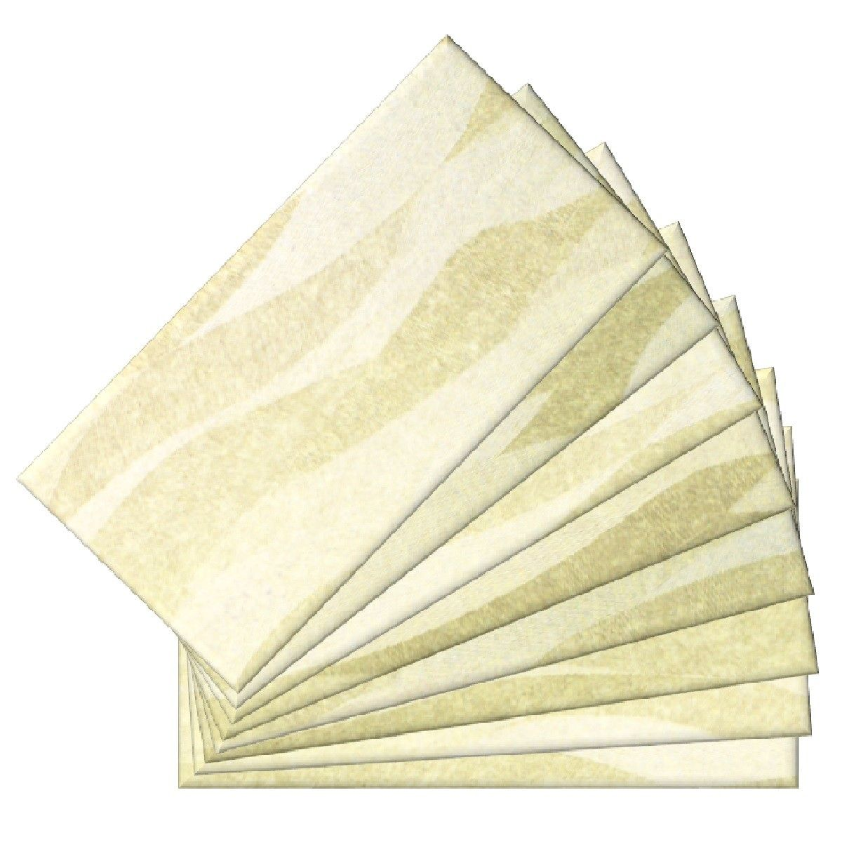 Skinny Glass Wall Tiles 04411 6in.x3in.(48Pack) Tile