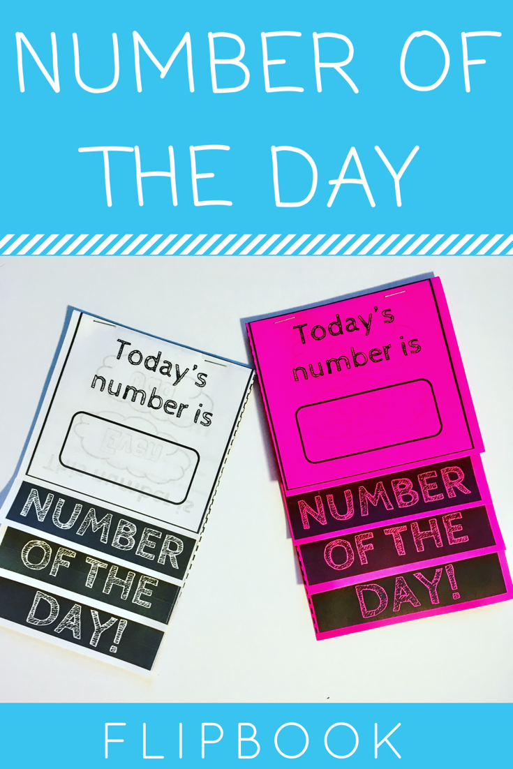 Number Of The Day Flipbook Math Flipbook Flipbook Math Primary Maths Activities Math Activities [ 1102 x 735 Pixel ]