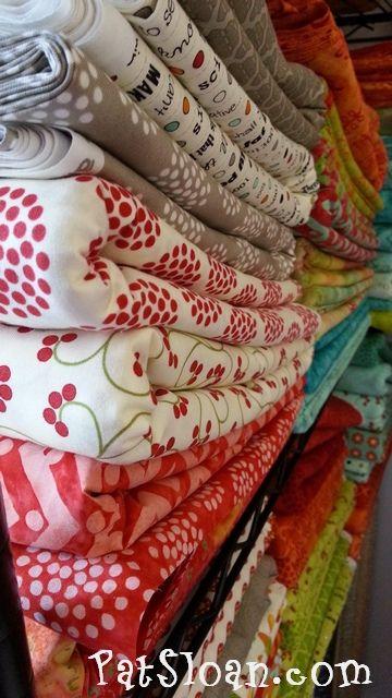 Pat Sloan Bobbins and Bits with Moda Fabric