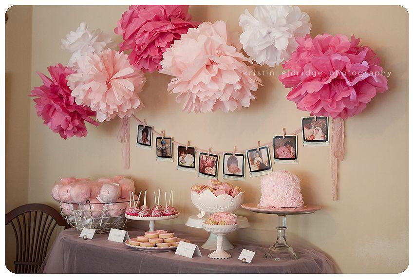 Girly Pink Baby Shower Long Beach Photographer Baby Shower Decorations Pink Baby Shower Girl Shower