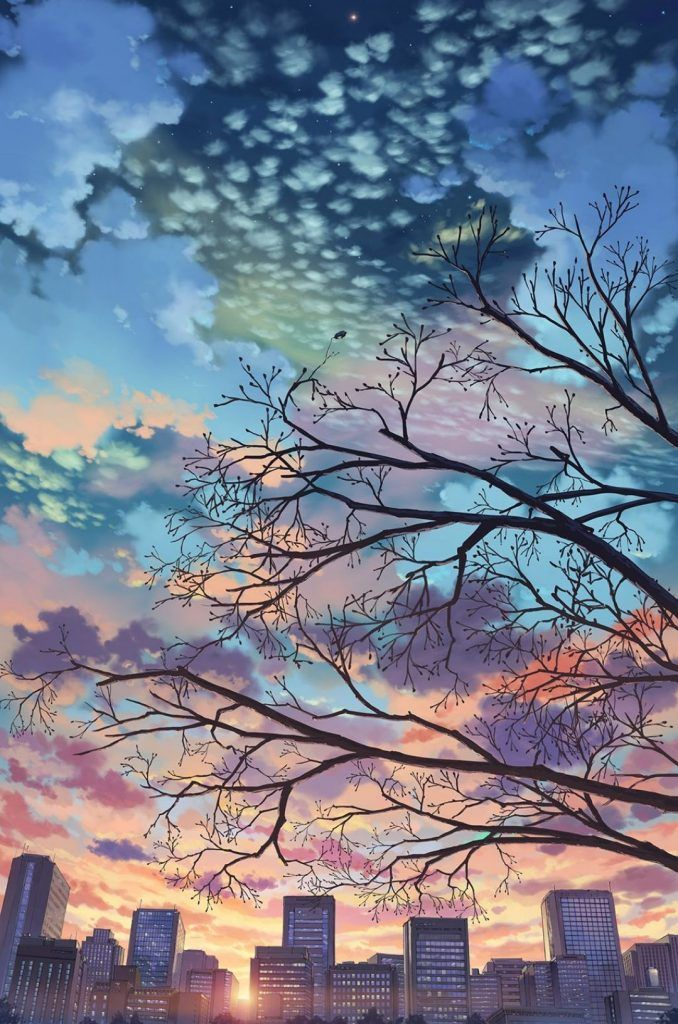Aesthetic Anime Background Iphone}