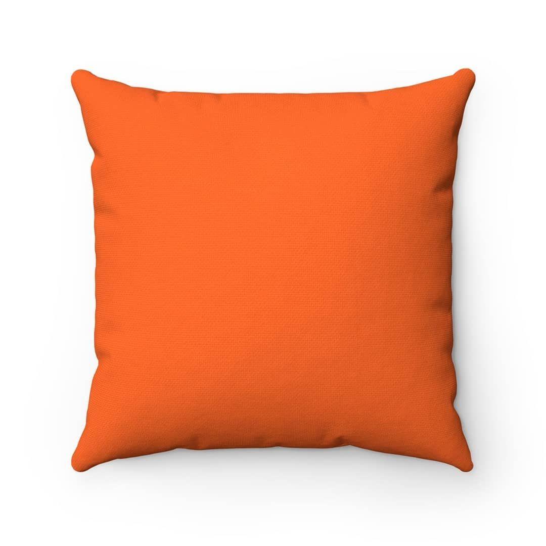 Orange Throw Pillow Decorative Square Pillow For Bedroom Living Room Den Bright Orange Accent Pillow O Orange Throw Pillows Orange Accent Pillow Pillows