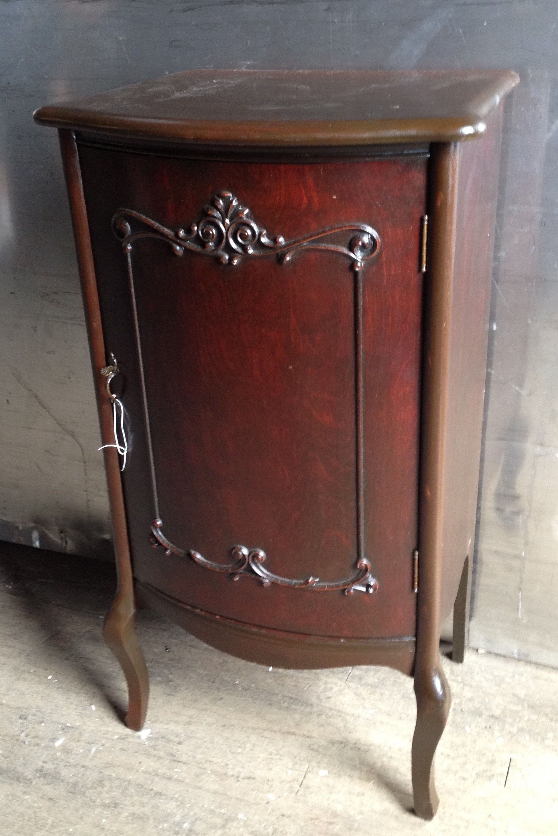 Antique Mahogany Music Cabinet $145   Chicago Http://furnishly.com/antique