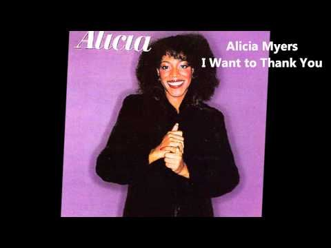 Alicia Myers I Want To Thank You A Gem Of A Record Superb