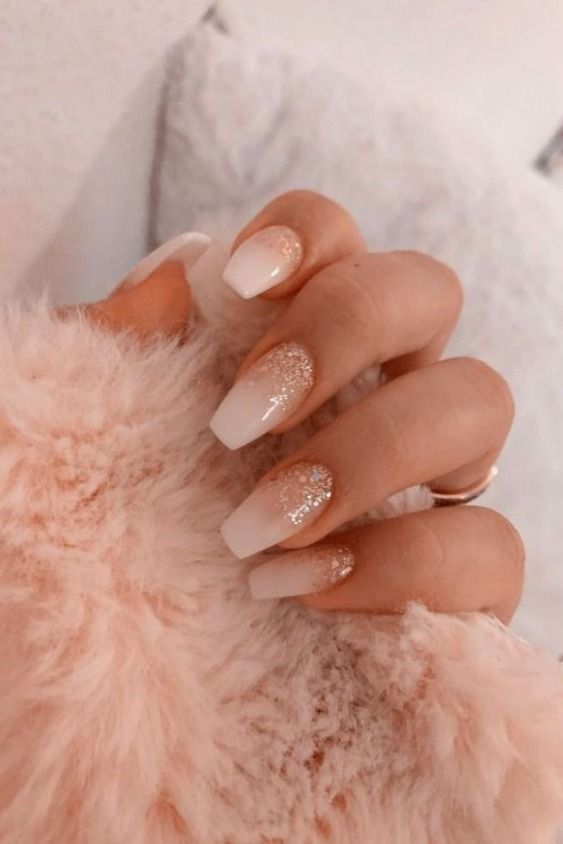 21+ Classy Nude Nails With Coffin Nail Art Designs You Can Own Today