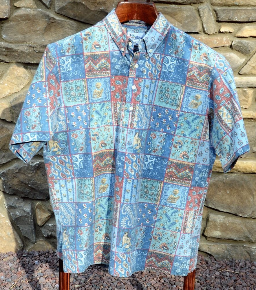 212c0a1f REYN SPOONER Hawaiian Traditionals XL Pullover Shirt Reverse Print Hawaii |  eBay Items for Sale - mountain_blessed | eBay, Shirts, Pullover