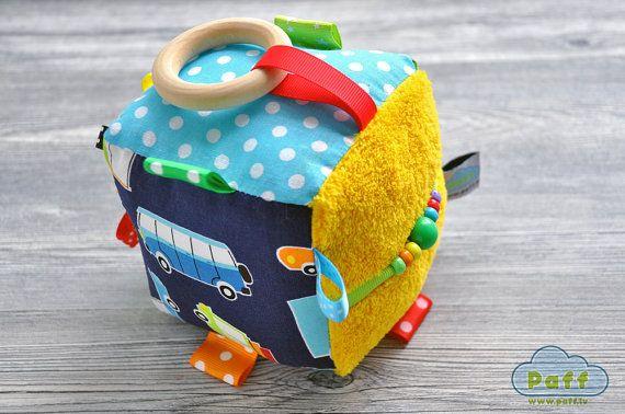 Photo of Artikel ähnlich der Entwicklung von Baby-Aktivität Blockwürfel Rassel Spielzeug auf Etsy