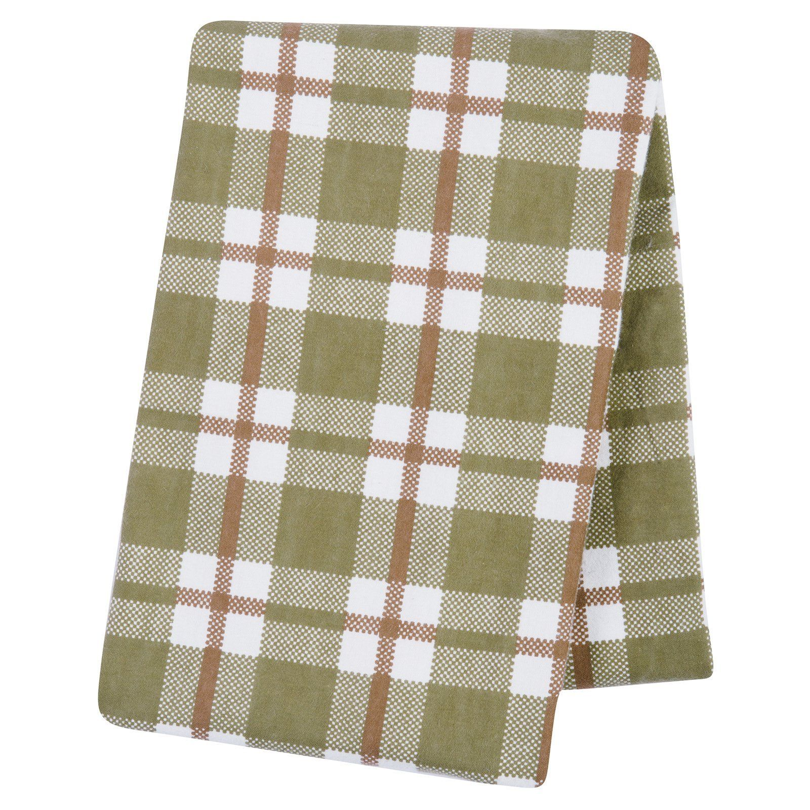 Trend Lab Deer Lodge Deluxe Flannel Swaddle Blanket - 102750