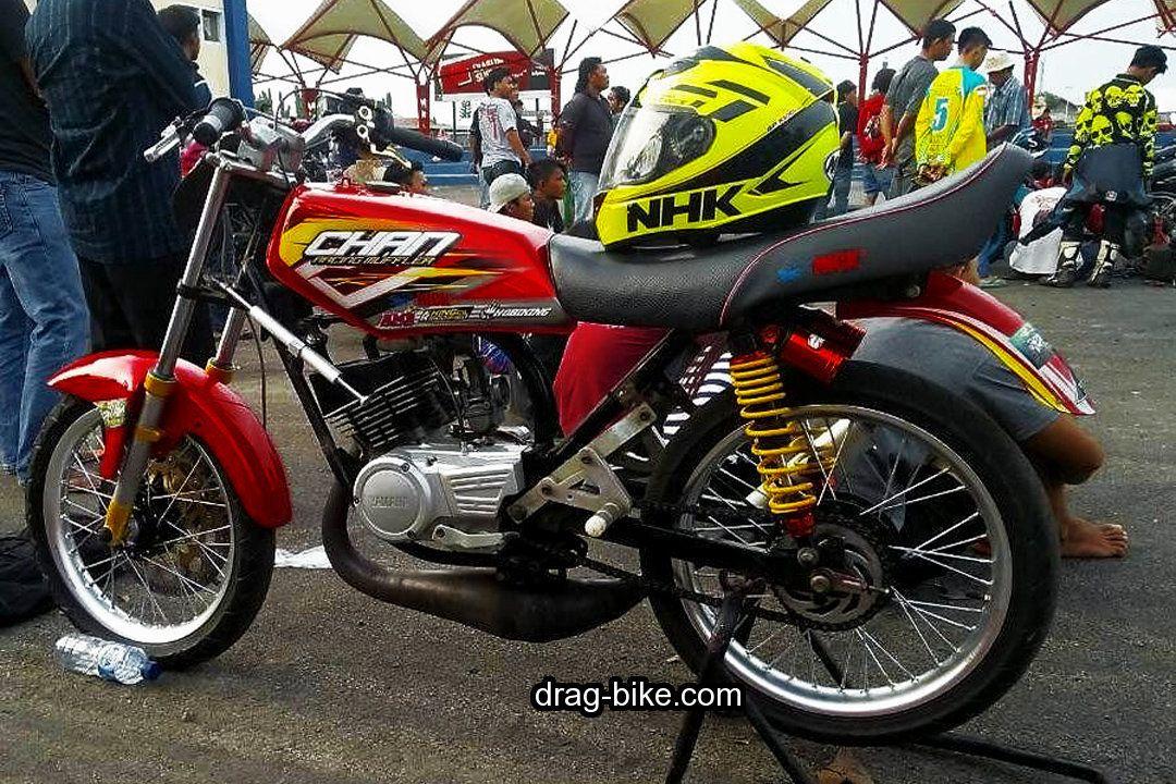 Modifikasi Rx King Buat Road Race Drag Racing Cafe Racer Motor