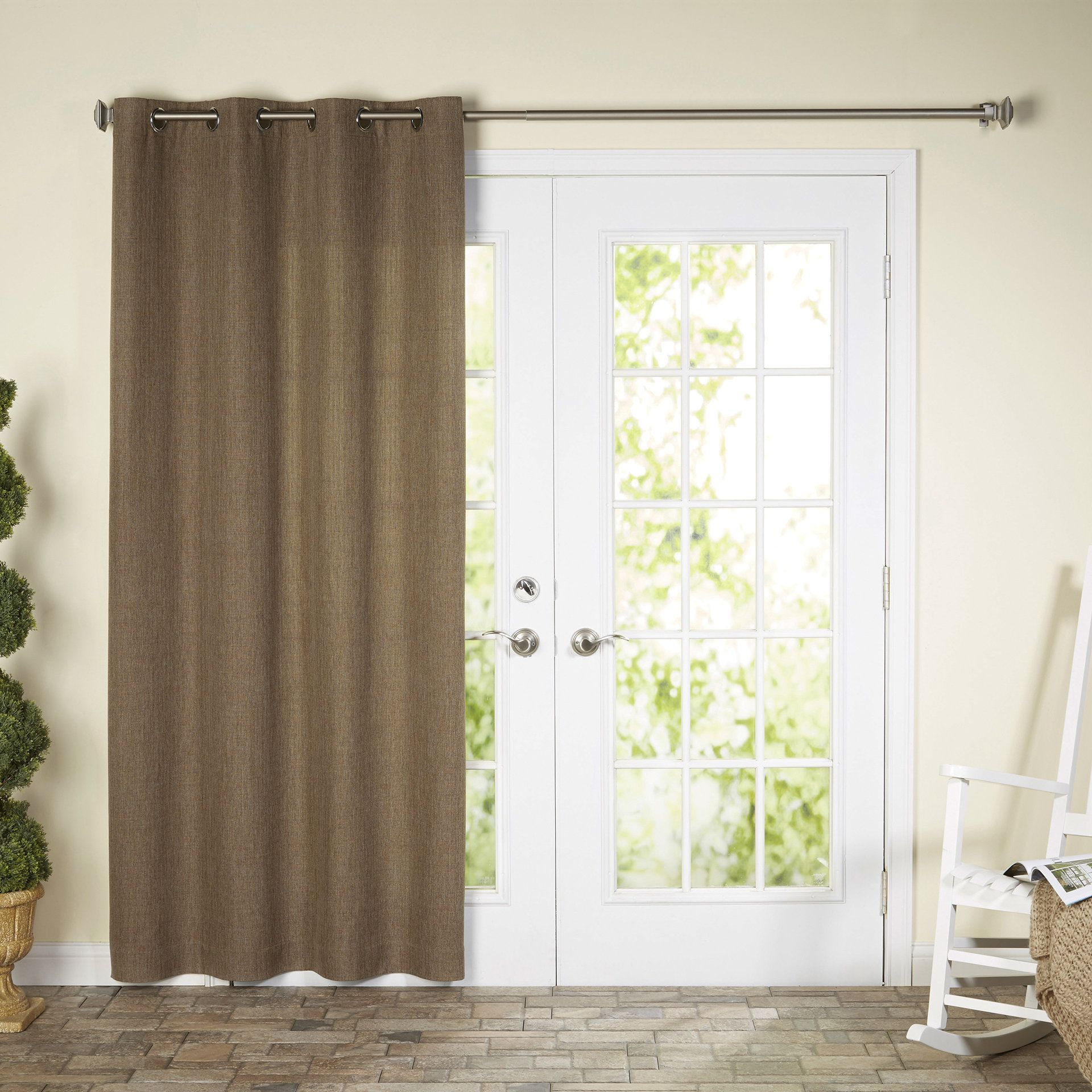 Amy indooroutdoor blackout thermal single curtain panel products